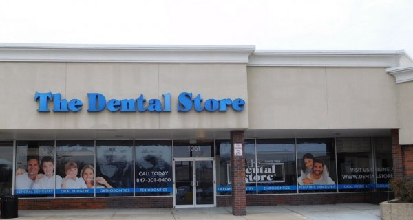 Dental Store Front Window Signage